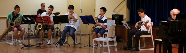 Jazz Band in concert
